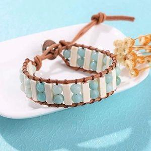 Chakra Handmade Amazonite bracelet